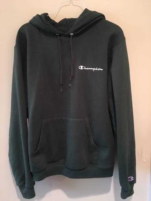 5499ac2be823 Champion Champion Dark Green Hoodie (S) Size s - Sweatshirts ...