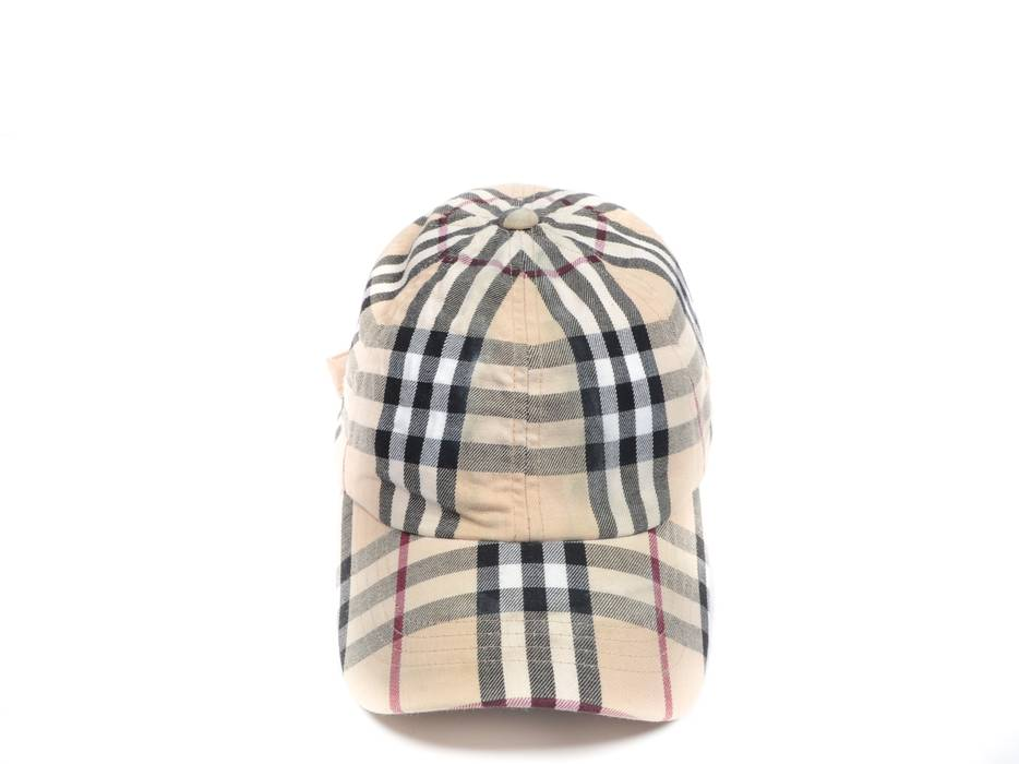 Burberry check cap Size one size - Hats for Sale - Grailed 97a45527462