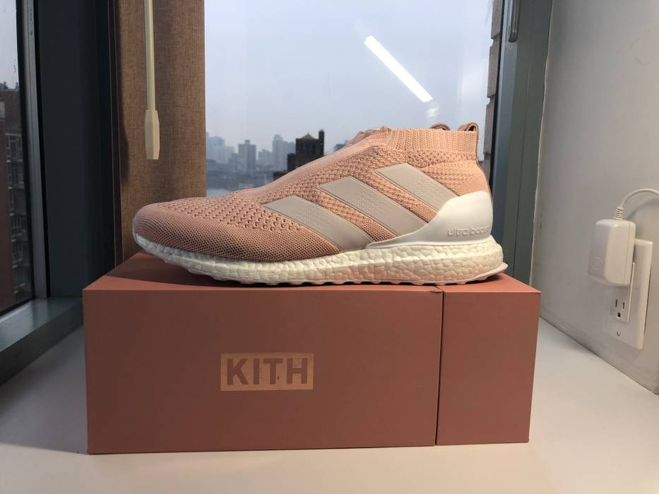 check out 9ebfb a6ffc Adidas ACE 16 PureControl Ultra Boost Kith Flamingos US 11 Size US 11  EU  44