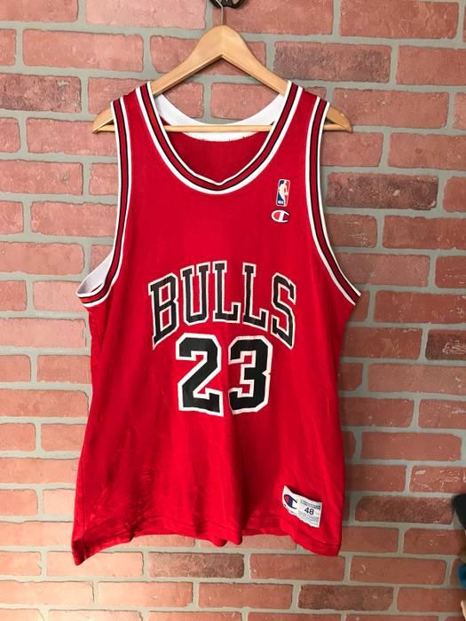 Champion Champion x NBA Chicago Bulls Micheal Jordan Jersey Size xl ... e6b19034a