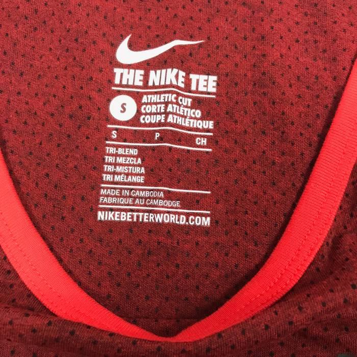 610212b8b824be Nike The Nike Tee M912 Mens Sz S Red Polka Dot Athletic Cut  Nike ...