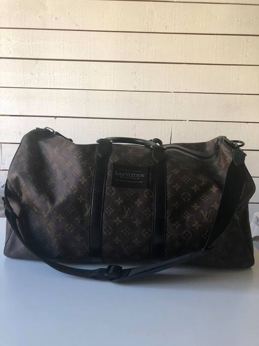 Louis Vuitton Limited Edition Louis Vuitton Cup Waterproof Keepall ... 55051074308f6