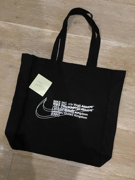 Nike Off White X Nike FOR LONDON ONLY TOTE BAG Size one size - Bags ... 579fcf768a