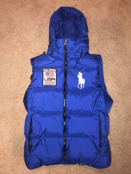 af67cd52c6 Polo Ralph Lauren Polo USA Alpine Ski Puffy Vest Size m - Vests for ...