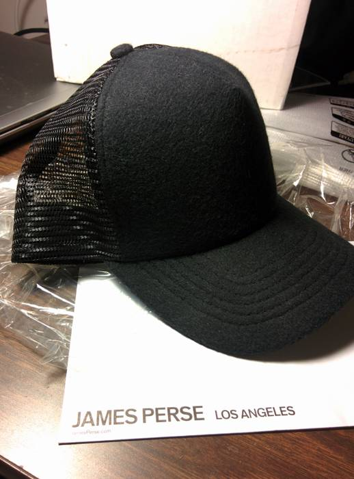 18a35a00876 James Perse Beiber Yosemite Trucker Hat Size one size - Hats for ...