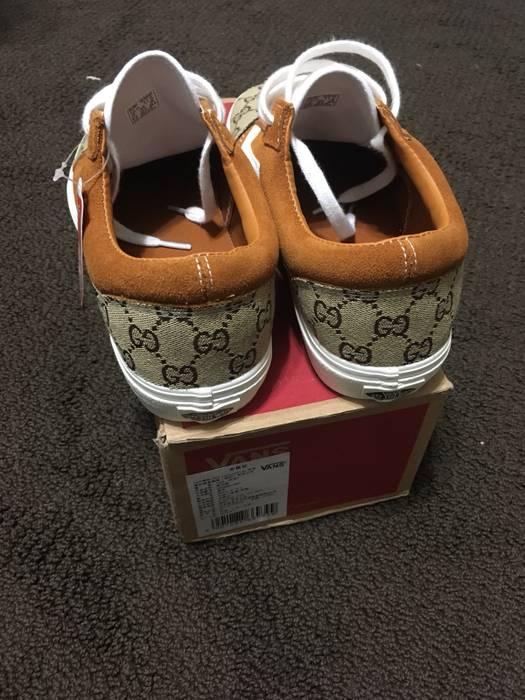 Vans Custom Gucci Vans Brown Old Skool Size 10 - Low-Top Sneakers ... 04fc55d03
