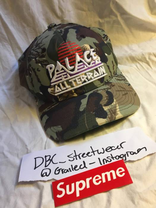 Palace Palace Curved Brim Hat Size one size - Hats for Sale - Grailed f7db7882edc