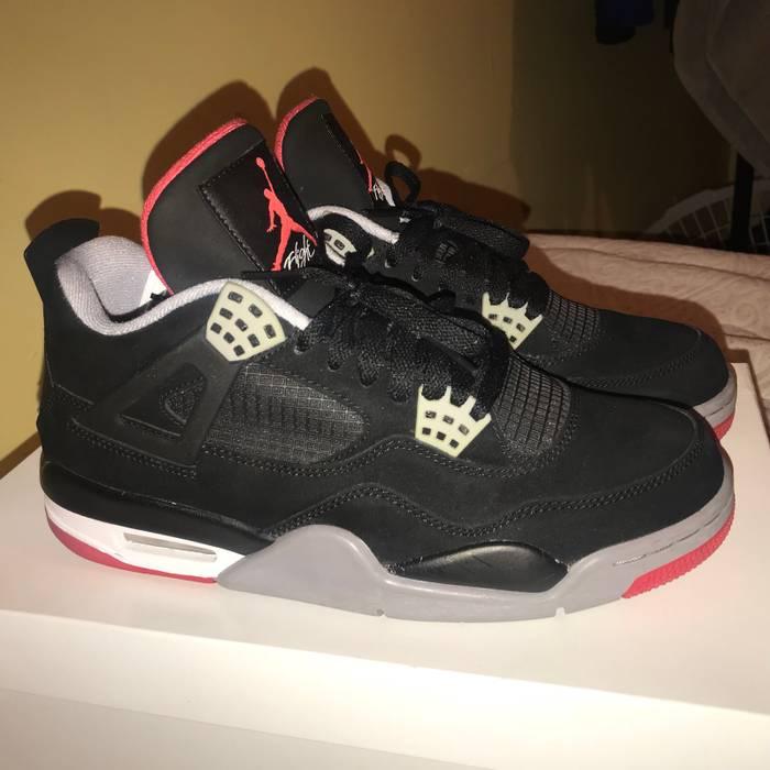 2f7f8871a8c2 Jordan Brand Air Jordan 4 Bred Size 9.5 - Low-Top Sneakers for Sale ...