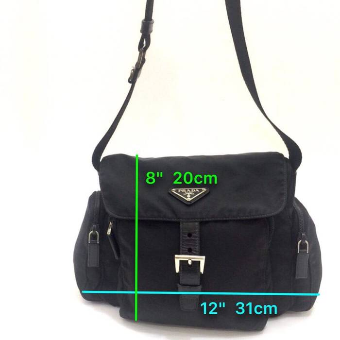 fb4a21ddfffc ... low price prada prada tessuto nylon sling bag cross body size one size  12 01155 08787 ...