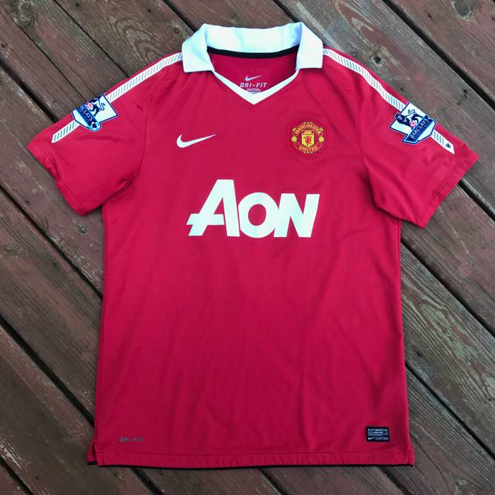 Nike. Authentic 2010-11 Manchester United
