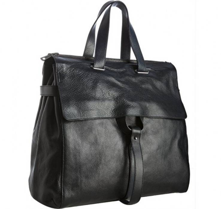 e1c21a3bee9a Yves Saint Laurent Yves Saint Laurent dark navy pebbled leather tote ...