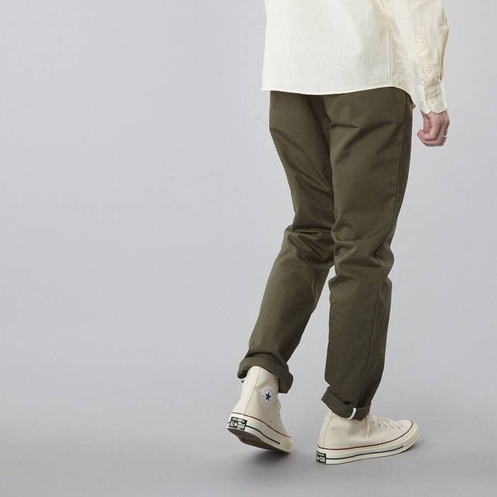 Norse Projects Aros Heavy Chino Olive Drab Size 30 - Casual Pants ... 40eff2e79