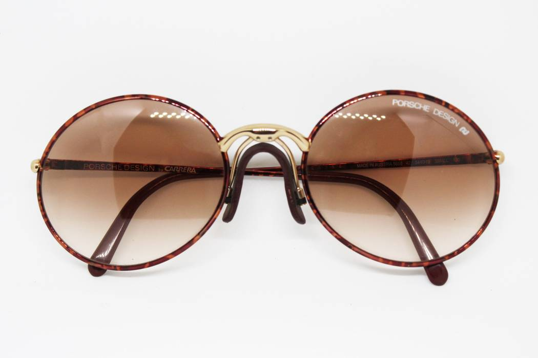 Porsche Design PORSCHE design by CARRERA mod. 5658 made in Austria Aviator  light tortoise sunglasses 4575d628707f