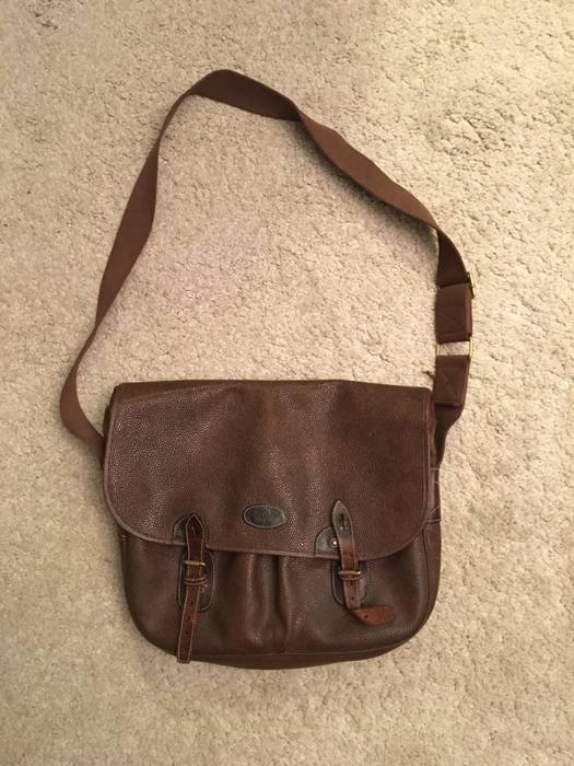 Mulberry Vintage Leather Messenger Bag Size one size - Bags ... 9464867ab0013