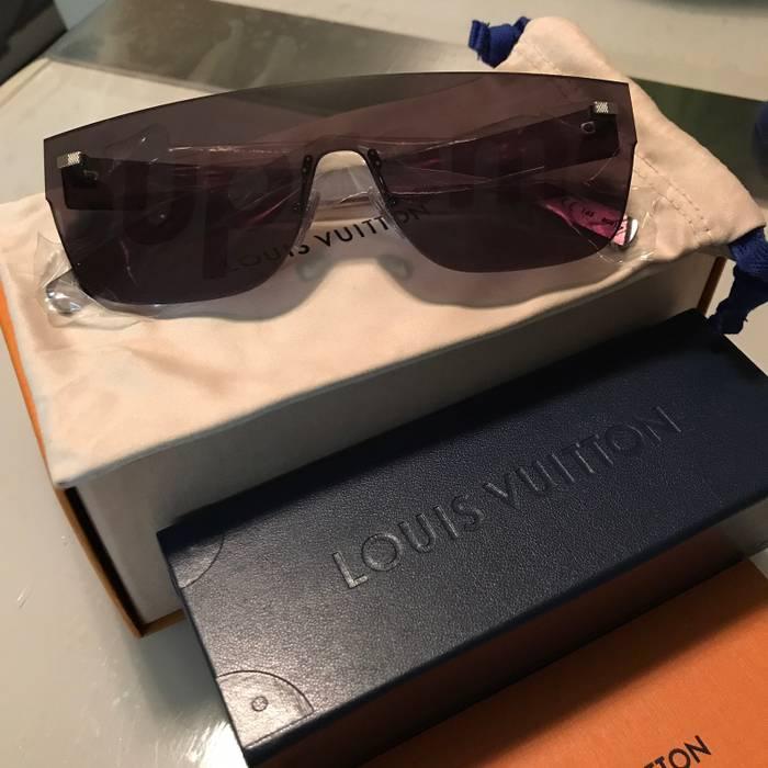 f5fb815e7a Supreme Louis Vuitton Supreme Black Sunglasses   City Mask Size ONE SIZE