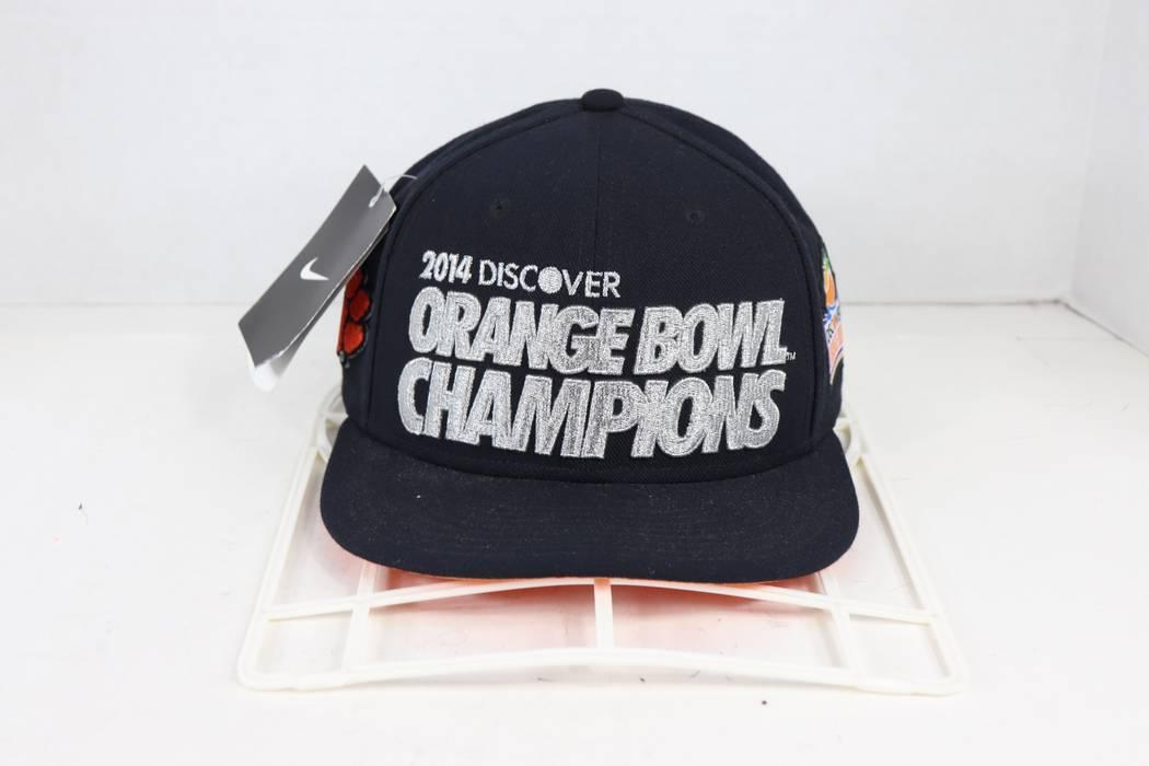 Nike New Nike Clemson Tigers Football 2014 Orange Bowl Champions Snapback  Hat Cap Size ONE SIZE 6fb83b6f87a