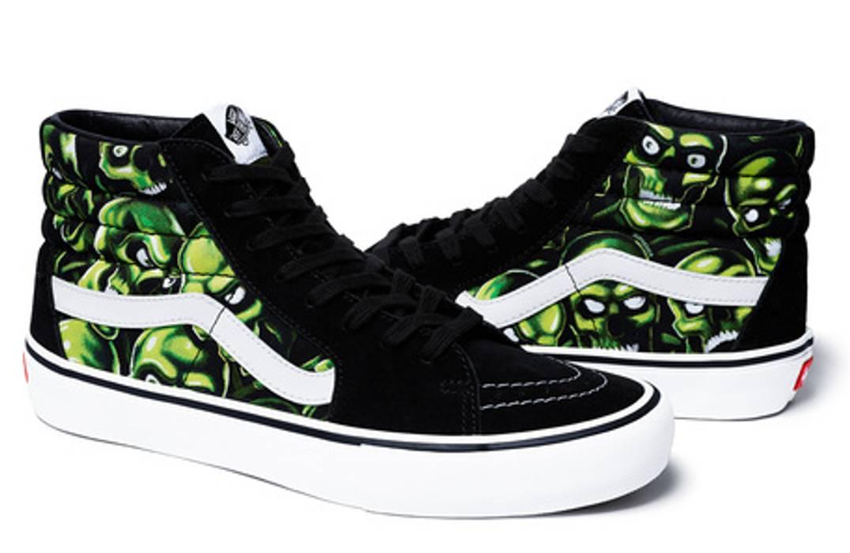 212da0187566aa Supreme Skulls Vans Size 8 - Hi-Top Sneakers for Sale - Grailed