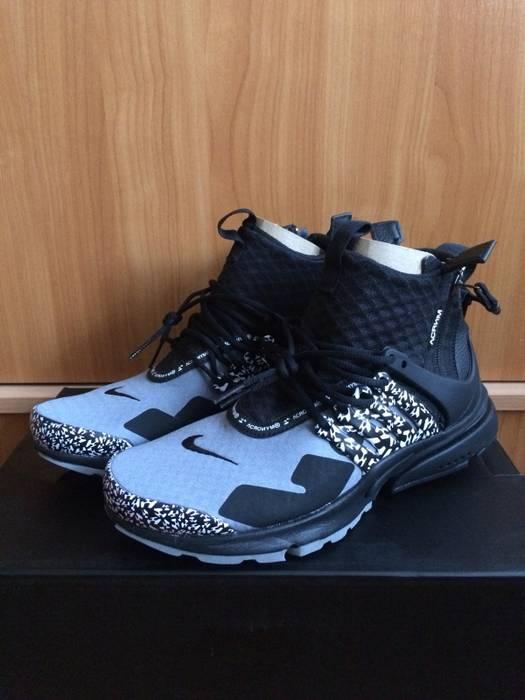 0fceb1a23fd7 Nike Acronym X Nike Air Presto Mid Cool Gray Black Size 7 - Hi-Top ...