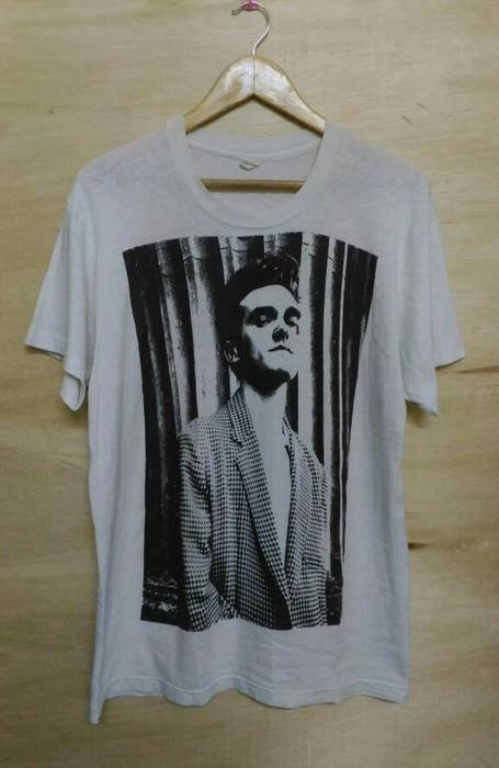 Band Tees VINTAGE MORRISSEY THE SMITH 80S ALTERNATIVE