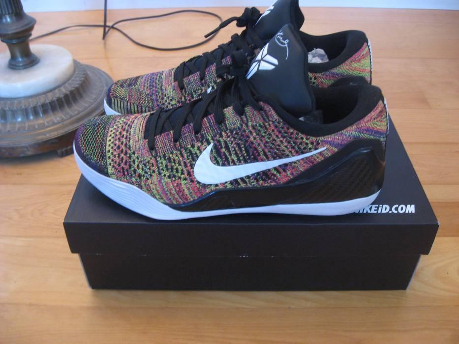 new arrival 93b4d db11f Nike. VNDS Sz.11.5 Nike Kobe IX 9 ID Flyknit Elite Low Multicolor ...