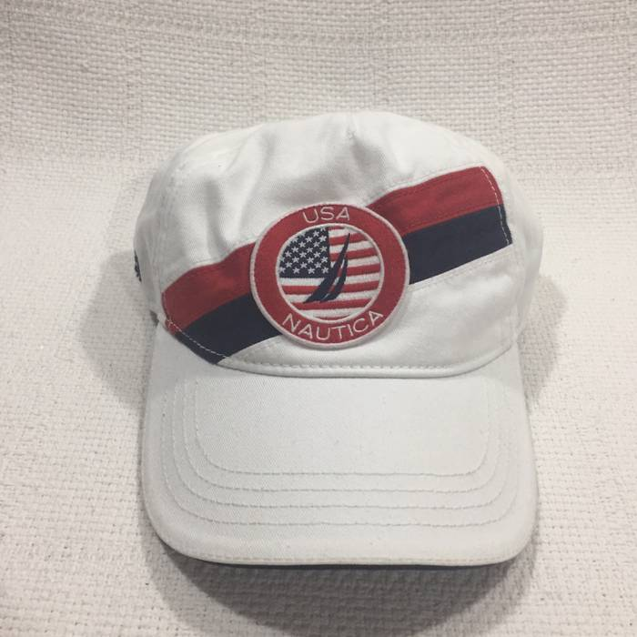Nautica White Dad Hat With Embroidered Branding Size one size - Hats ... 452b5aeb7777