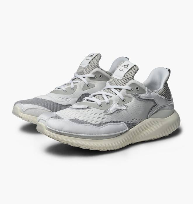 Adidas ADIDAS x KOLOR ALPHABOUNCE OFF WHITE GREY Size 8.5 - Low-Top ... 053464e38