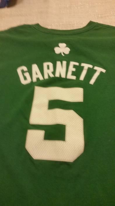 Nba XL NBA Men s Boston Celtics Kevin Garnett Green Adidas  5 Shirt Size US  XL c77e80eb1