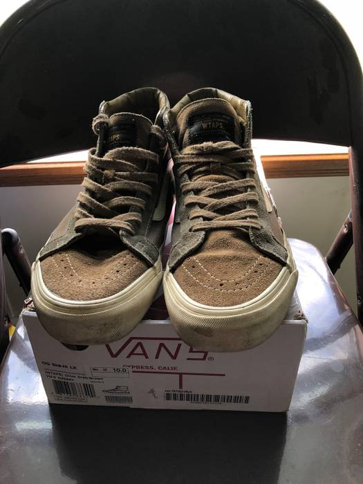ea0ad3ac865a4d Vans Olive Drab Sk8-Hi Size 10 - Hi-Top Sneakers for Sale - Grailed