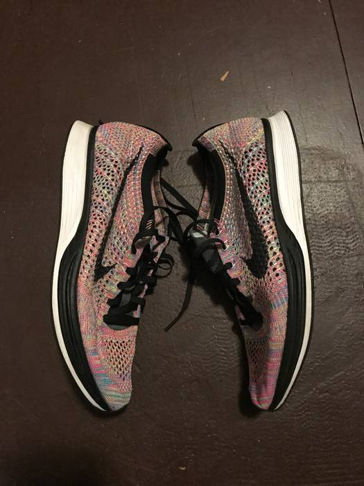 1e2a867df2f6f Nike Flyknit Racer Multicolor 3.0 (Grey Tongue) Size 9.5 - Low-Top ...
