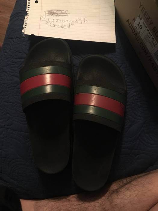 48c9ea86ab2 Gucci Gucci Slides Size 10 - Sandals for Sale - Grailed
