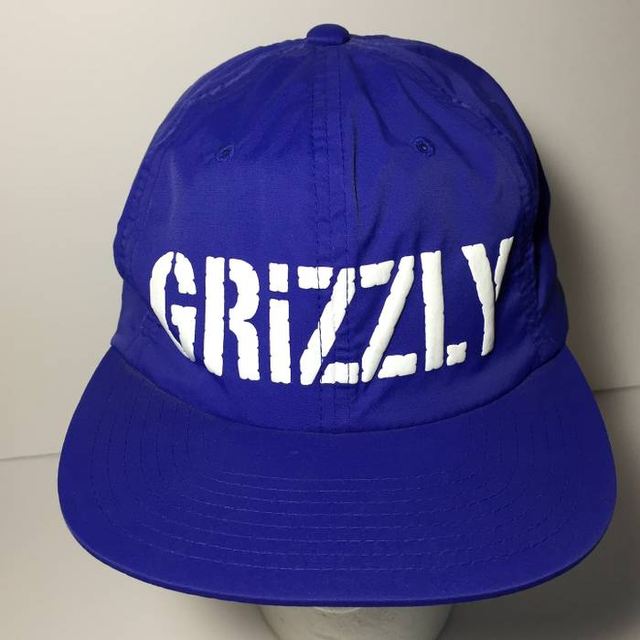 ddc805e17d1 ... australia diamond supply co grizzly griptape snapback hat starter  diamond supply cap embroidered royal blue size