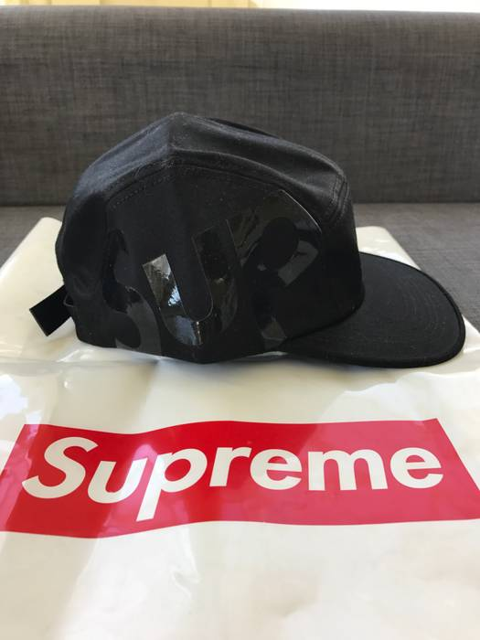 d354feb9f8b Supreme Black Sup Side Logo Camp Cap Size one size - Hats for Sale ...