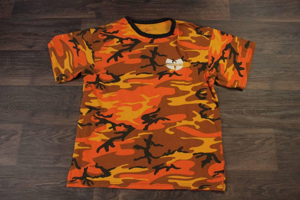 21200273c12 Wu Tang Clan Wutang Clan Ghostface Killah Supreme Clientele The Wally Champ  Rothco Camo Orange Size
