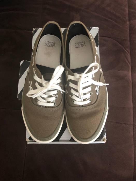 e2776617c8caba Vans Vans Authentic Wtaps Olive Green Size 9 - Low-Top Sneakers for ...
