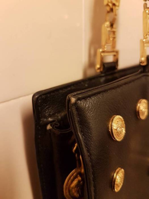 56c1d70600e Versace Rare Authentic Vintage Versace Leather Quilted Bag Made in Italy  Last Drop!