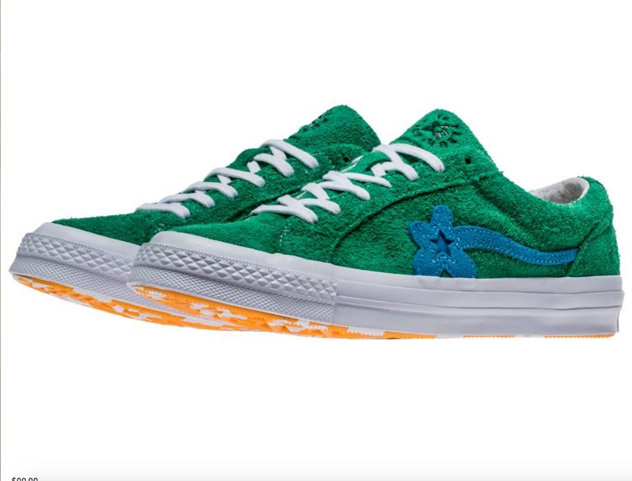 Converse Tyler Golf Le Fleur X Converse One Star Green Blue Size