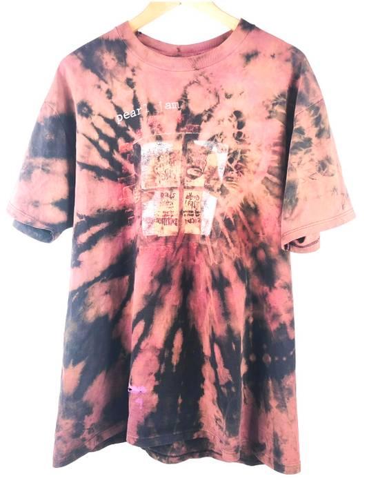 44e7417d Vintage 1993 Pearl Jam Window Pain Pane Tie Dye Custom 90s Grunge Bleached  Distressed Rock Merch