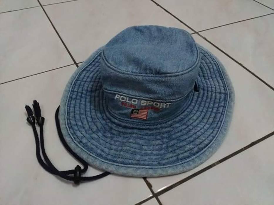 Polo Ralph Lauren. Vintage POLO SPORT by Ralph Lauren Denim Bucket Hat 297488c9563