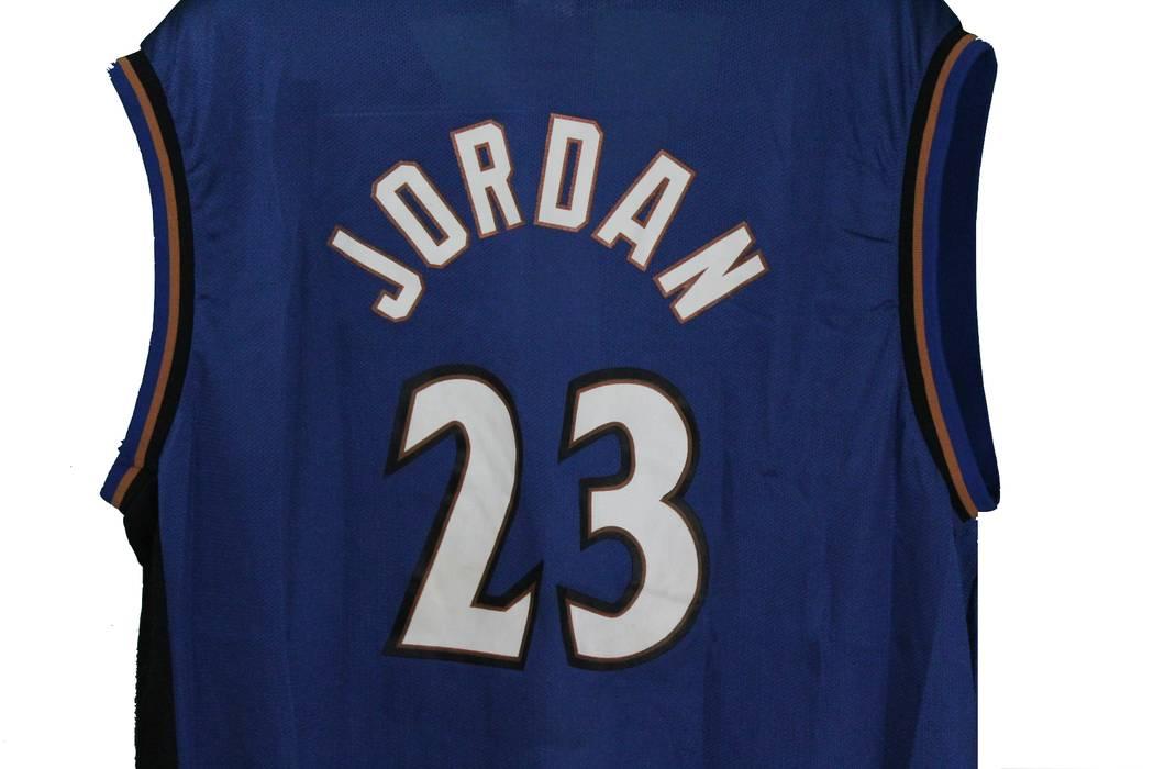 076efb1eb Jordan Brand Michael Jordan  23 Washington Wizards Authentic NBA Champion  Jersey Size US L