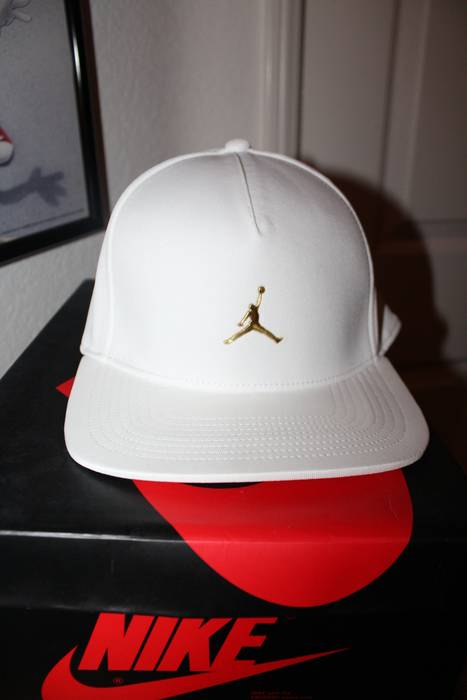 Jordan Brand Gold and White OVO Snapback Size one size - Hats for ... e9d0e4b38469