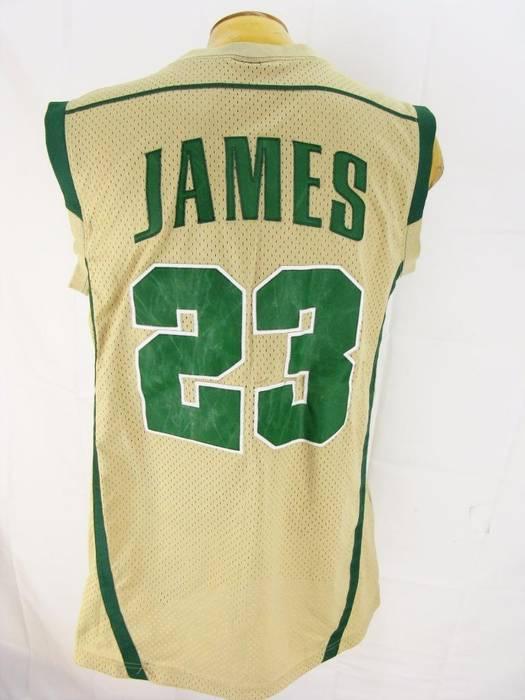 Nike Lebron James St Vincent St Mary High School Jersey Size US M   EU 48 f6c6083ed