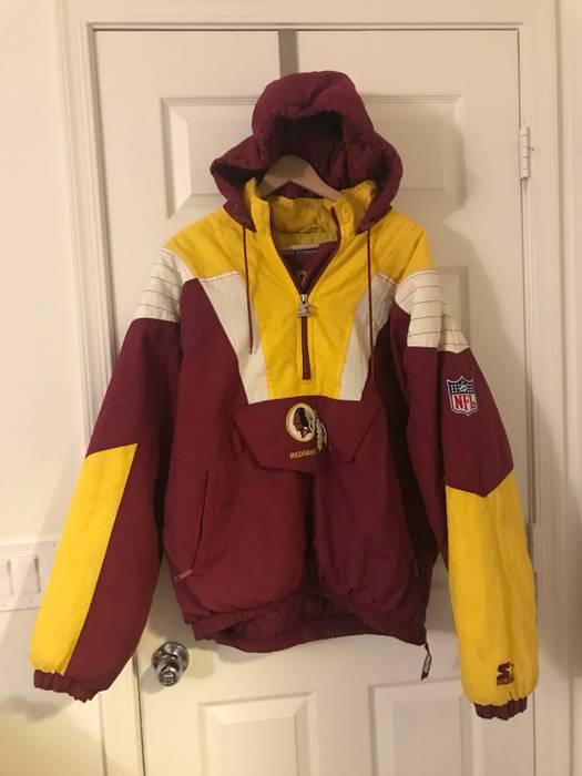 4d6174c7a Vintage Vtg Pro Line Washington Redskins Puffer Jacket Size US XL   EU 56    4