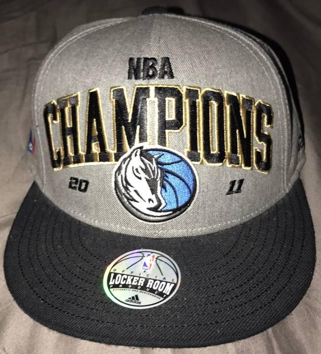 ae3fae39325f6 ... coupon adidas adidas dallas mavericks 2011 nba champions locker room  snapback hat size one size 57738