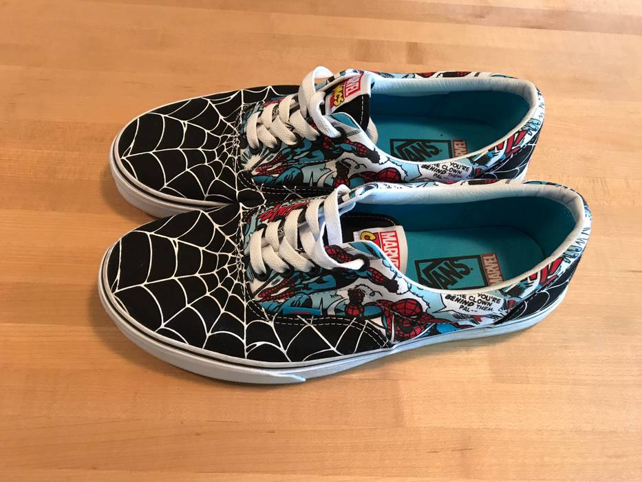 30d62bbf938 Vans Amazing Spider-Man Era Size 9 - Low-Top Sneakers for Sale - Grailed