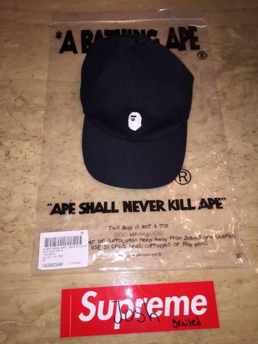 Bape Bape Navy Ape Head Cap Hat Size one size - Hats for Sale - Grailed 3a4d16b8f64