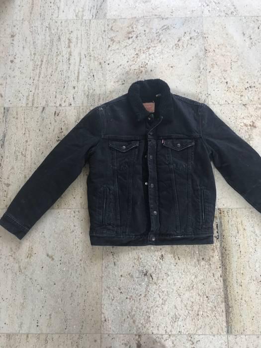 Supreme Supreme X Levis Black Denim Jacket Size M Denim Jackets