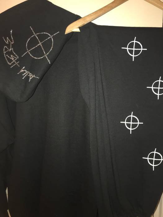 e0372c07cd487 Superrradical  Aim Here  hoodie 🎯 Bedazzled Version (limited ...