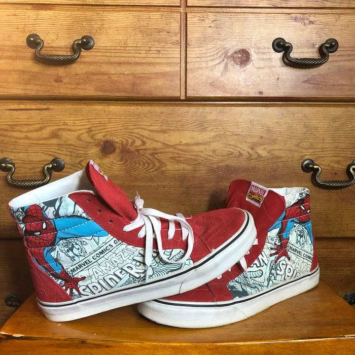 Vans Vans Sk8-hi Shoes Spiderman Size 10 - Hi-Top Sneakers for Sale ... 5d5cf792a