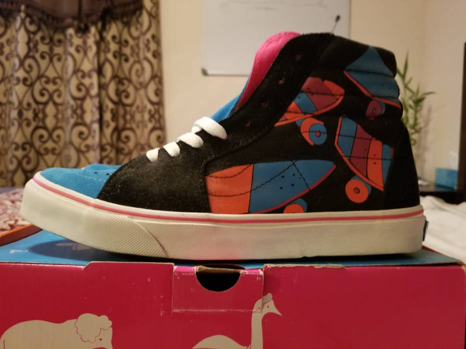 0fca9c34951bd5 Vans Parra x Vans SK8-HI Size 9 - Hi-Top Sneakers for Sale - Grailed