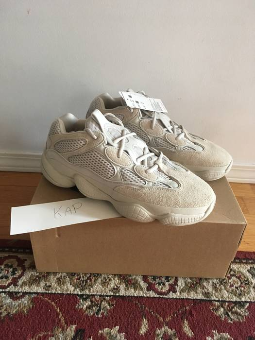 55833ae6434e5 Adidas Yeezy 500 Blush Desert Rat Size 9.5 - Low-Top Sneakers for ...